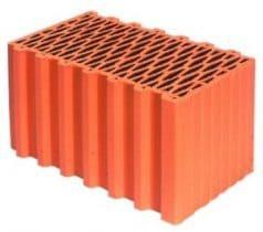 ціна на керамічний блок Porotherm 44 P+W