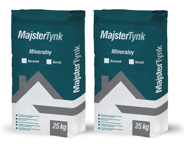 Штукатурка мінеральна MajsterTynk