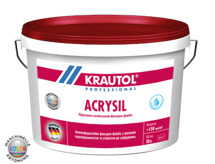 Фасадная краска Acrysil