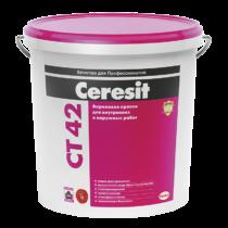 акриловая краска Ceresit CT 42