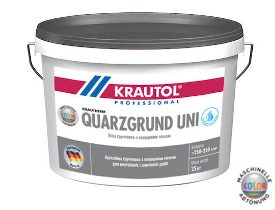 Грунтовочная краска Quarzgrund Uni