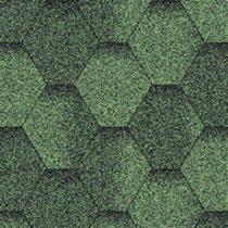 мягкая черепица aquaizol зеленая эко