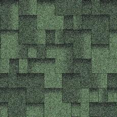 Мягкая черепица Акваизол Зеленая Эко Акцент