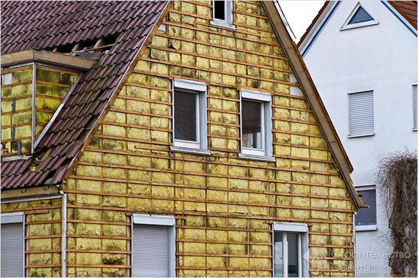 минеральная вата для утепления внешних стен дома