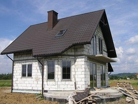 будівництво будинку з газобетону