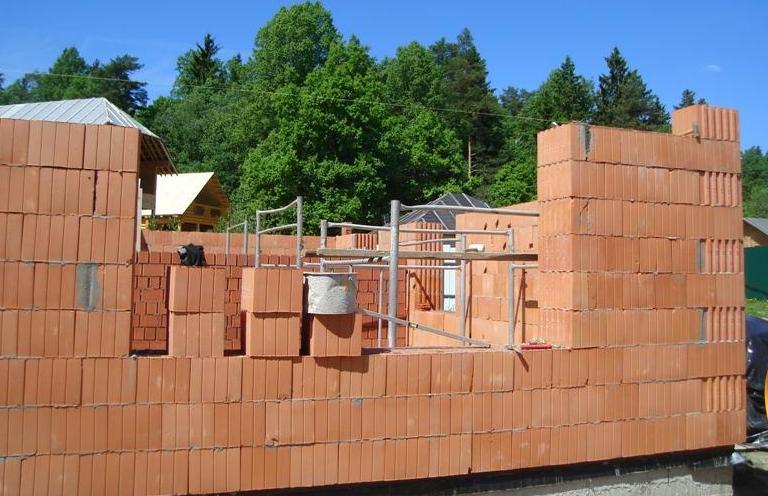 будівництво будинку з керамзитобетону