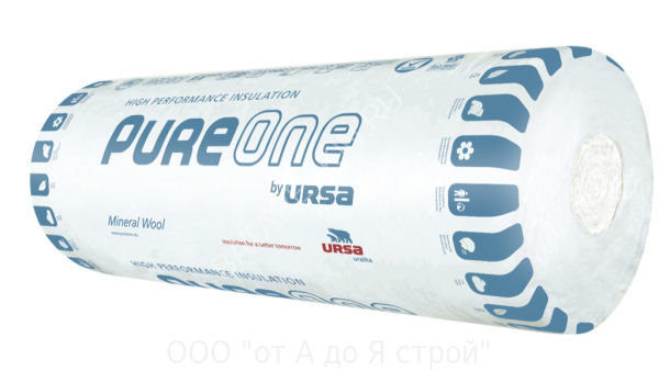 URSA PureOne 37 RN Минеральная вата Урса 50 мм